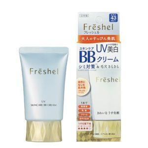 Kem trang điểm BB Cream Kanebo Freshel UV