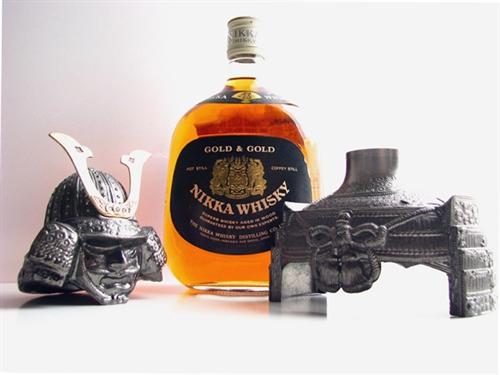Rượu Whisky Nikka Samurai 750ml