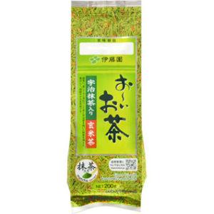 Trà xanh gạo lứt Itoen của Nhật thơm ngon và giàu dinh dưỡng